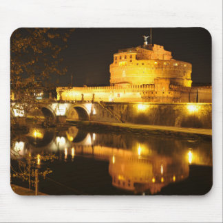 Rome, Italy at night Mouse Pad