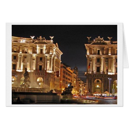 Rome, Italy Card