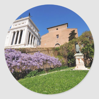 Rome, Italy Classic Round Sticker