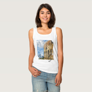 Rome Italy Colosseum Clothing Tank Top