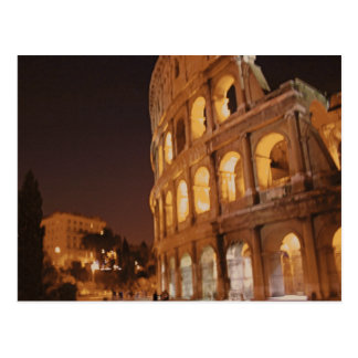 Rome Italy Colosseum Postcard
