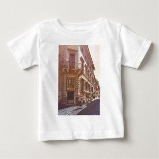 Rome Italy Italian Grocery Getter Bike Cobblestone Baby T-Shirt