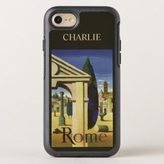 Rome Italy name phone OtterBox Symmetry iPhone 7 Case