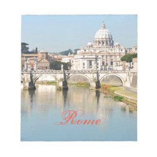 Rome, Italy Notepad