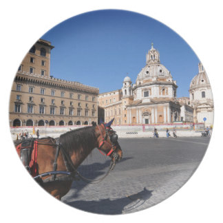 Rome, Italy Plate