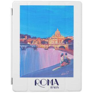 Rome Italy Retro Vintage Poster iPad Cover