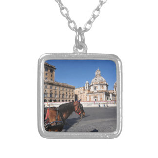 Rome, Italy Silver Plated Necklace