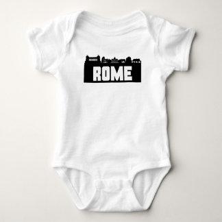 Rome Italy Skyline Baby Bodysuit