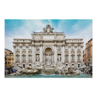 rome italy trevi fountain poster FROM  8.99