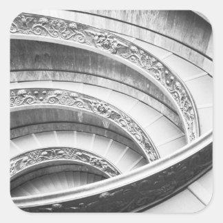 Rome Italy, Vatican Staircase Square Sticker