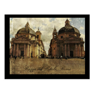 Rome, Piazza del Popolo Postcard