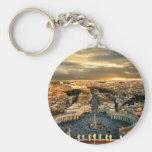 Rome Porte-clé Rond