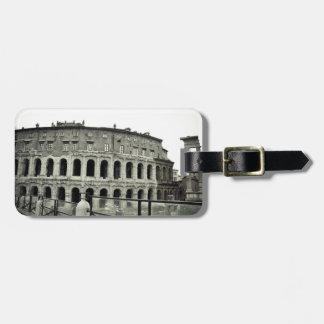Rome ruins luggage tag
