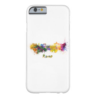 Rome skyline in watercolor barely there iPhone 6 case