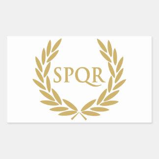 Rome SPQR Roman Senate Seal