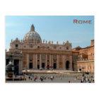 Rome - St Peter's Basilica Postcard