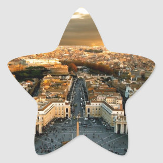 Rome Star Sticker