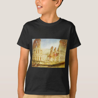 Rome, The Colosseum by William Turner T-Shirt