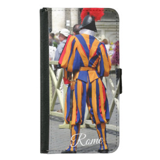 Rome The Eternal City Collage Samsung Galaxy S5 Wallet Case