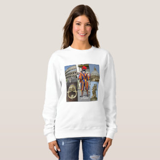 Rome The Eternal City Collage Sweatshirt