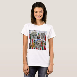 Rome The Eternal City Collage T-Shirt