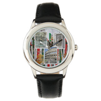 Rome The Eternal City Collage Watch