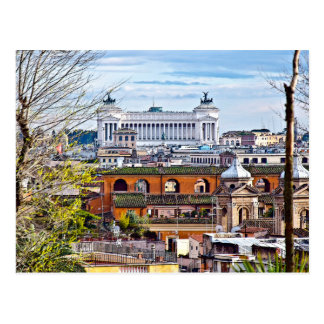 Rome, the eternal city. postcard
