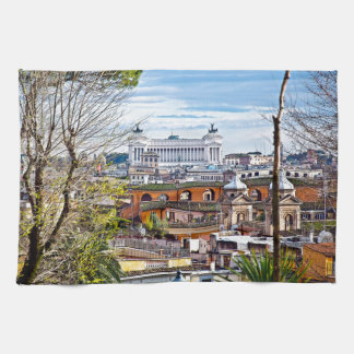 Rome, the eternal city. towels