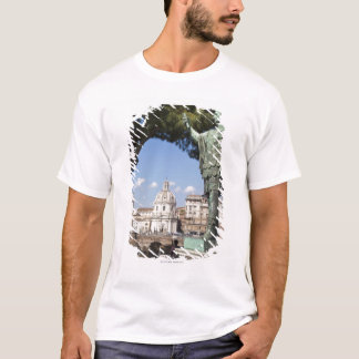 Rome, the Forum, statue of Cesar T-Shirt