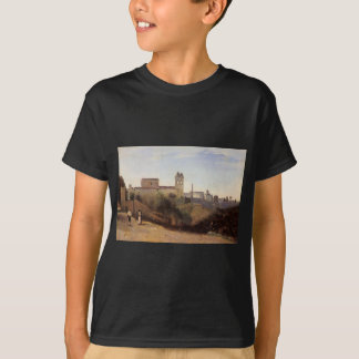 Rome, the Trinita dei Monti View from the Gardens T-Shirt