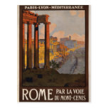 Rome through the Mont-Cenis Postcard