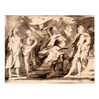 Rome Triumphs by Paul Rubens Postcard