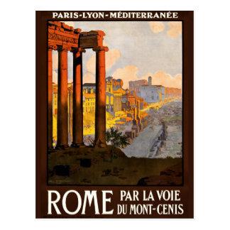 Rome Vintage Postcard