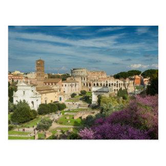 Rome - vue de la carte postale No.2 de Romanum de