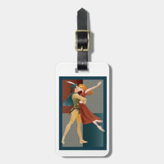 Romeo and Juliet, ballet Luggage Tag