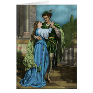 Romeo and Juliet Card
