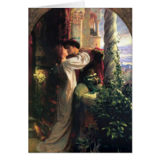 Romeo and Juliet Secret of Love Card