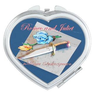 Romeo and Juliet Travel Mirror
