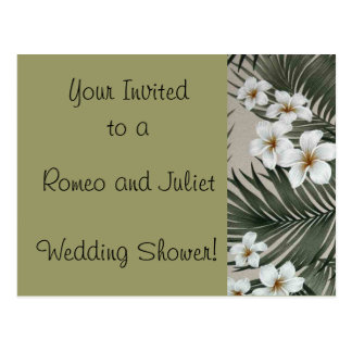 Romeo and Juliet , Wedding Invites Postcard