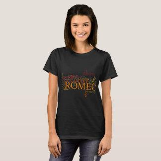 Romeo and Juliet Word Art T-Shirt