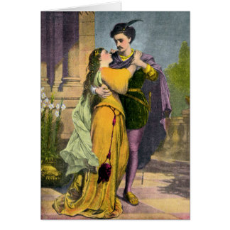 Romeo & Juliet In Love Card