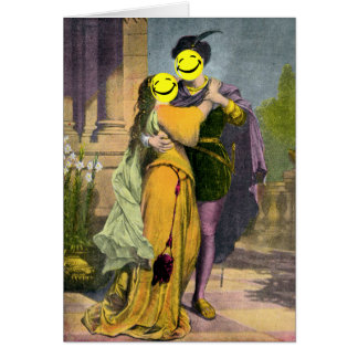 Romeo & Juliet Peekaboo Card
