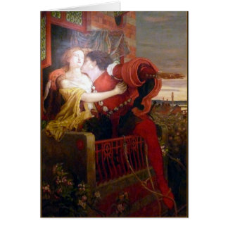 Romeo & Juliet Romantic Valentine Card