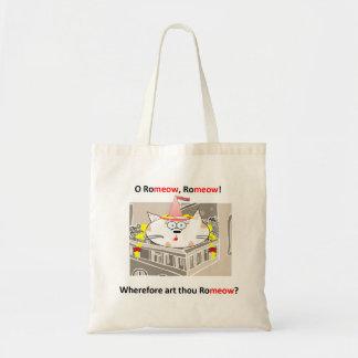 Romeow tote bag