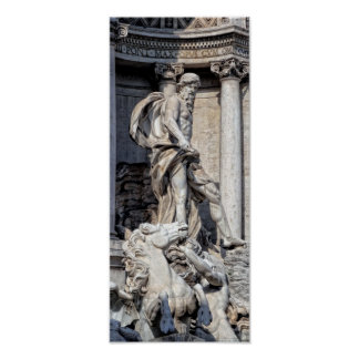 ROME's TREVI FOUNTAIN Poster