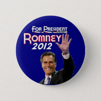Romney 2012 2 inch round button
