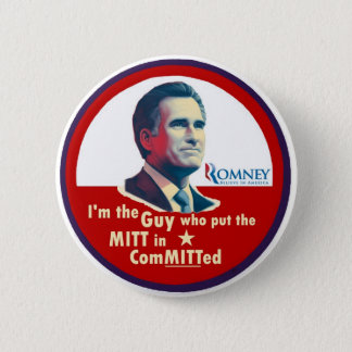 Romney 2012: ComMITTed 2 Inch Round Button