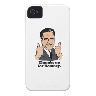 ROMNEY 2012 - THUMBS UP FOR ROMNEY.png iPhone 4 Cover