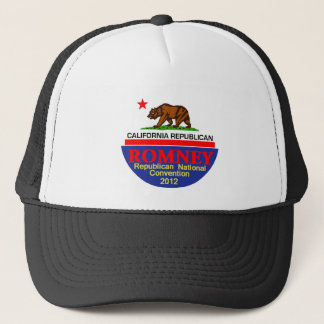 Romney CALIFORNIA RNC Trucker Hat