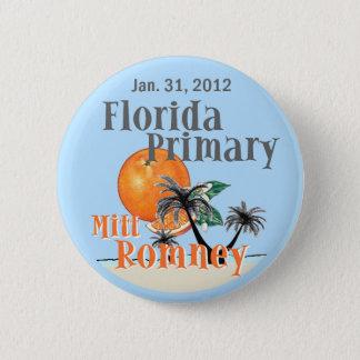 Romney Florida 2 Inch Round Button